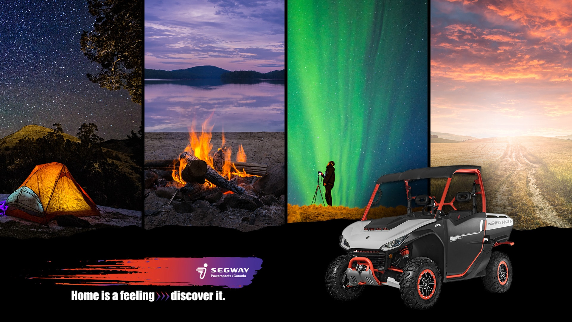 Discover the feeling of Home with Segway Powersports!