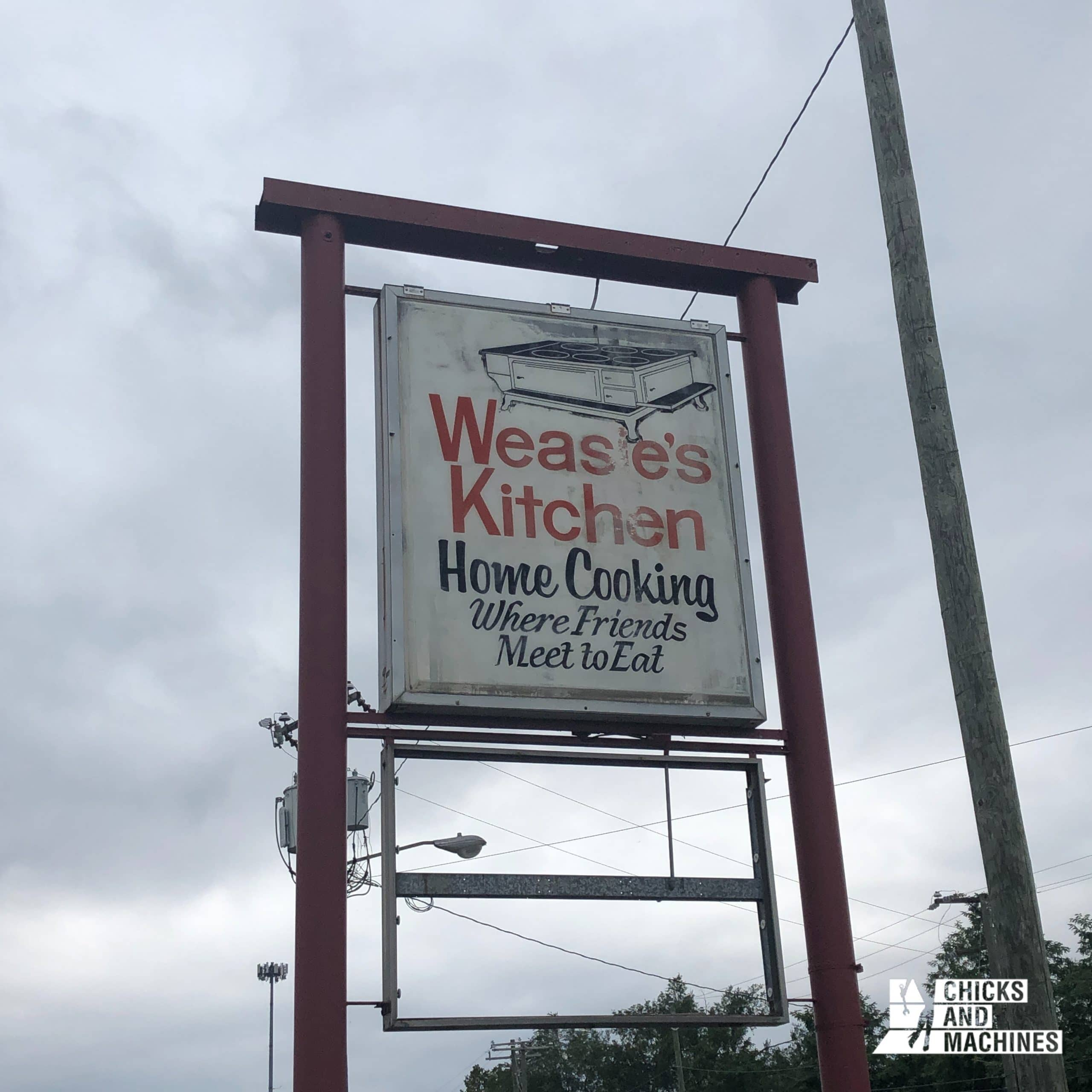 Un arrêt à la Weasie's Kitchen permet de bien se sentir en sol sud-américain !