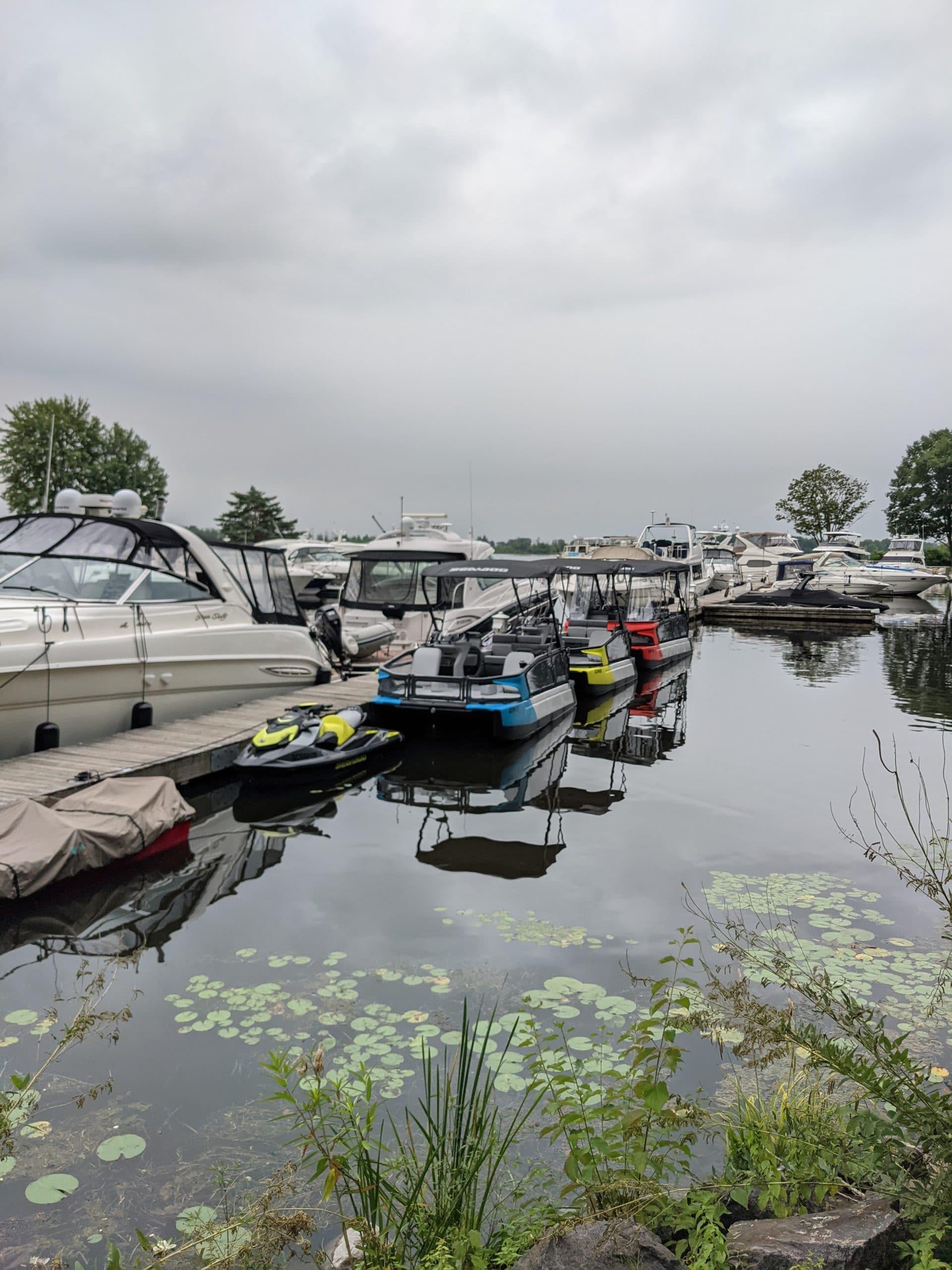 The 2022 Sea-Doo Switch pontoon