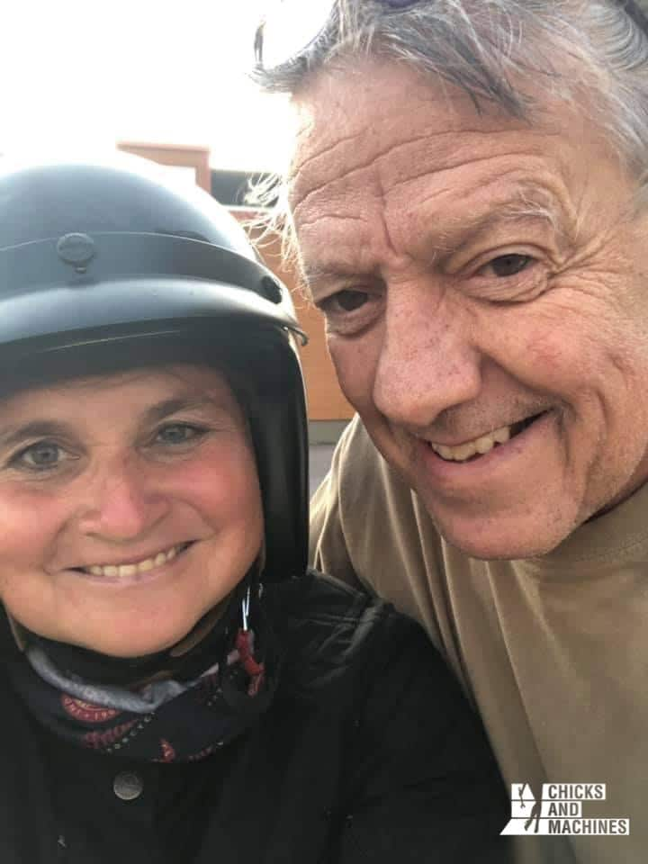 Sophie accompagnée du fils de Gilles Vigneault, une belle rencontre !