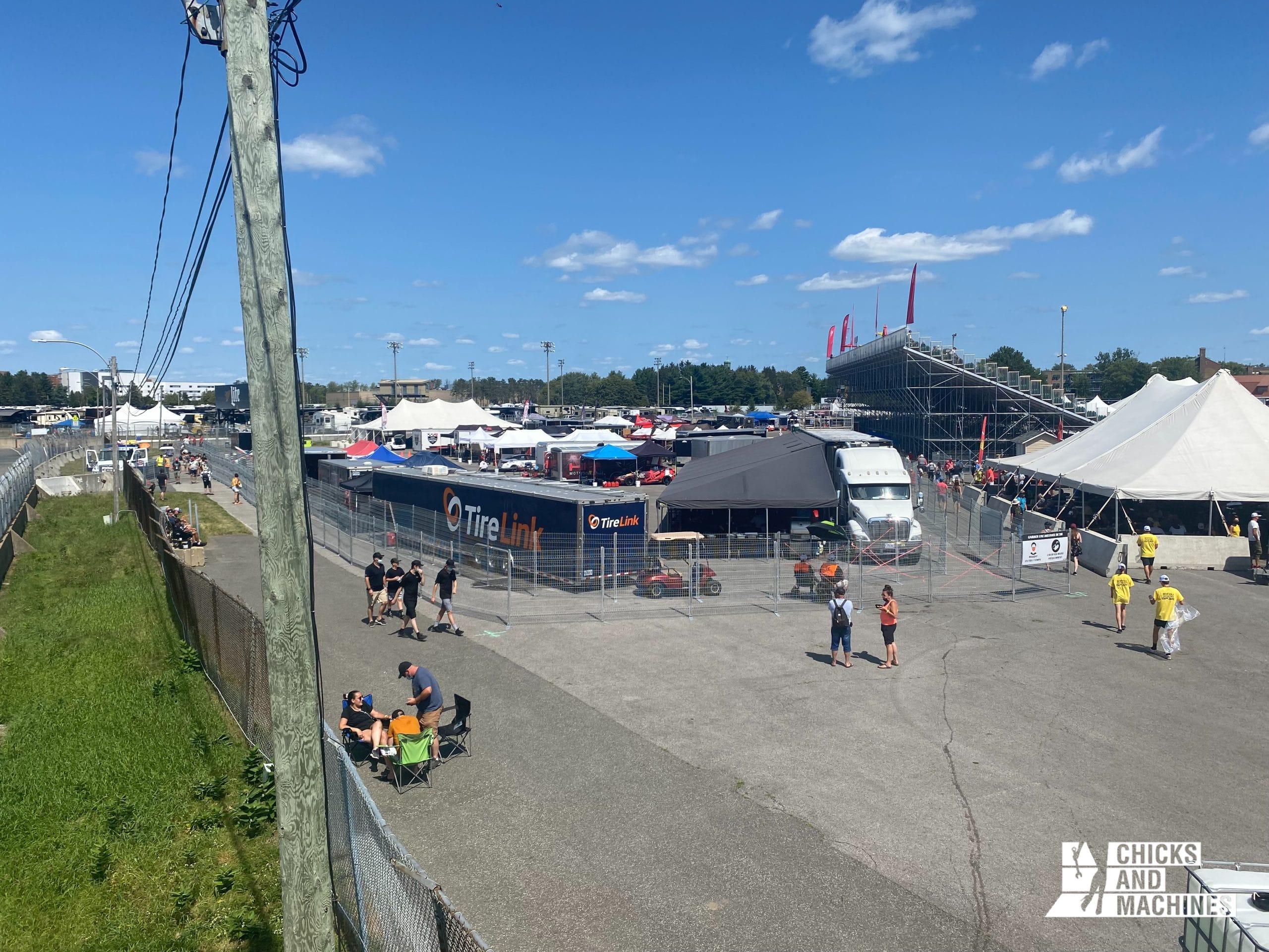 Les paddocks du Grand Prix de Trois-Rivières sont normalement accessibles au public.