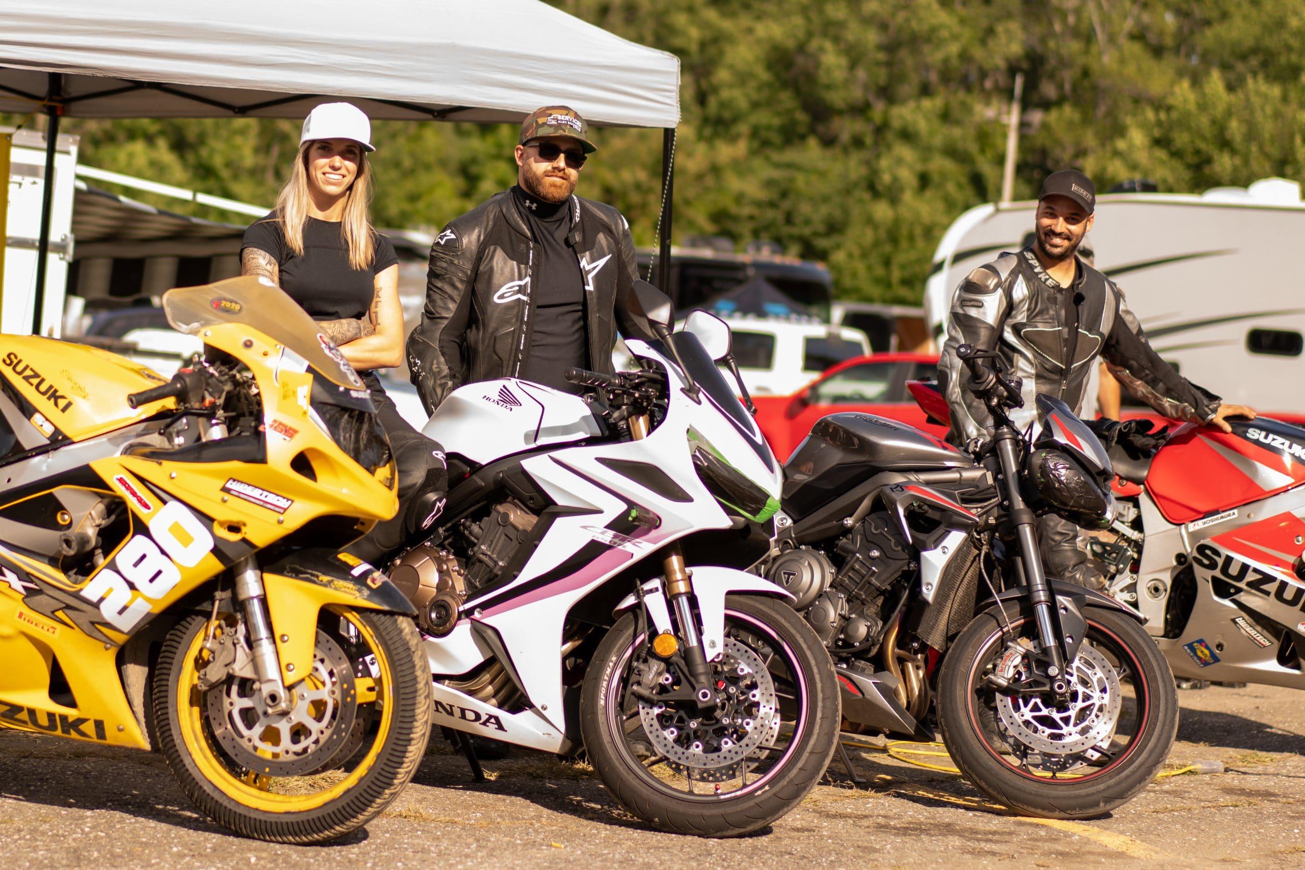 La moto sur piste est un tout autre univers qu'Alexanne a découvert ! Crédit photo : Clem's Pictures
